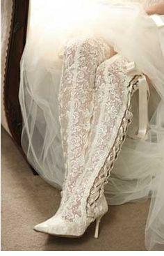 Super Sexy Wedding Boots!
