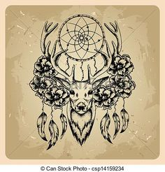 Dream catcher Clip Art and Stock Illustrations. 198 Dream catcher ...