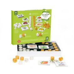 Les boîtes à odeurs - Un apprentissage Montessori, pour comprendre les odeurs…