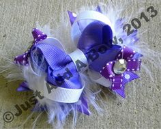 HOW TO: Make a 4 Inch Basic Boutique Stacked Hair Bow Tutorial by Just Add A Bow, via YouTube.