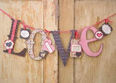 Wood Letters: LOVE