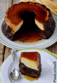 Chocoflan, la Torta Impossibile Messicana | PixeLiciouS