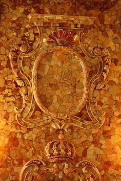 The Amber Room. Catherine Palace, Tsarskoe Selo.
