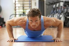 4. The Push-Up for 50 Full-Range Repetitions