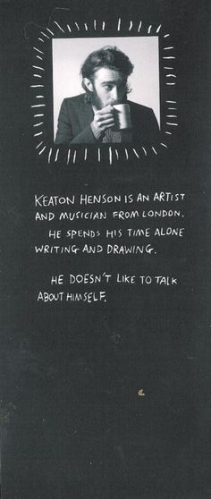 just discovered this keaton henson.