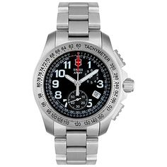 Victorinox Swiss Army Men's 24786 Ground Force 60/60 Chronograph Watch Victorinox Swiss Army, Swiss Army Watches, Army Men, Chronograph, Rolex Watches, Stuff To Buy, Accessories