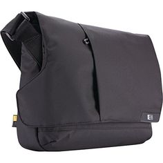 1abcec1343ba7 Case Logic MLM-111 11-Inch Laptop/Chromebook and iPad Messenger Case (Black)