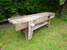 Victorian joiners bench