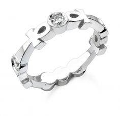 mine is white gold with sapphires our wedding rings were custom designed by the amazing - African Wedding Rings