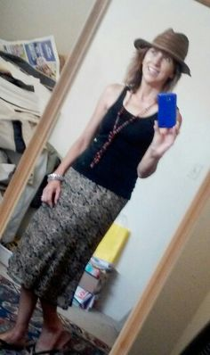 Sigrid Oleson skirt & hat from DWR consignment. so cute!