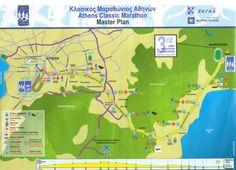 Athens Marathon 2016 Course