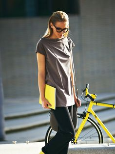 Burda Square Yoke Top 02/2014 #119A from the Stop Traffic Collection