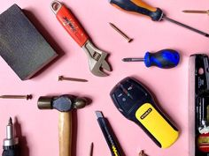 DIY Starter Kit: The Basic Tools That You Need To Own — MELANIE LISSACK INTERIORS Wooden Sash Windows, Ikea Billy Bookcase Hack, Set Of Drawers, Paint Line, Paint Brands, Basic Tools, Bathroom Repair, Bathroom Wall, Decorative Panels