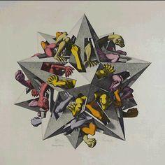 M.C. Escher – Gravity