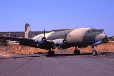 DC 4 Production  .  sa air force