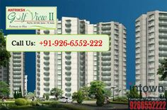 """Antriksh Group Present """"Antriksh Golf View 2"""" with #2BHK #3BHK and #4BHK #Flats in Sector 78 #Noida  #NoidaProperty #Realestate #Intowngroup #Intownrealtors   http://goo.gl/fUjEDs"""
