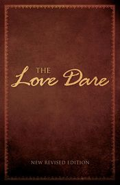 The Love Dare | http://paperloveanddreams.com/book/585378547/the-love-dare | Unconditional love is eagerly promised at weddings, but rarely practiced in real life. As a result, romantic hopes are often replaced with disappointment in the home. But it doesn�t have to stay that way.The Love Dare, the New York Times No. 1 best seller that has sold five million copies and was major plot device in the popular movie Fireproof, is a 40-day challenge for husbands and wives to understand and…