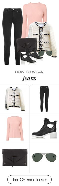 """Untitled #2350"" by erinforde on Polyvore featuring Madewell, Chanel, Balenciaga, Topshop, Ray-Ban, women's clothing, women, female, woman and misses"