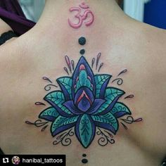 #flordeloto por @hanibal  #lotus #lotusflower #tattoo #ink #flowers #flower #peaceful #meditate #colorfull #color #colorido #tatuaje #tinta #tatuajesdeflores #amazingtattoos #tattoosoftheworld