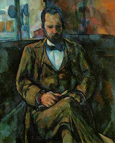 """Paul Cezanne, """" Ritratto di Ambroise Vollard """", 1889"""