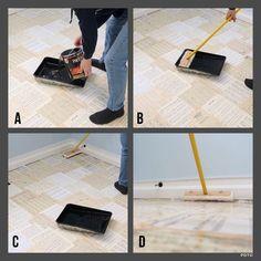 Paper Bag (Sheet Music) Floor