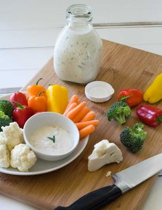 Ranch Dressing - Gluten free, dairy free, egg free, and soy free. It's made using vegenaise. Remember to substitute the sweetener for an acceptable sweetener such as splenda or stevia, or just leave out the sweetener.
