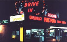 Penguin Drive-In, Manitowoc, WI    No longer standing-leveled late 2012!....I was always a Late's girl...