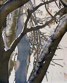 silk painting_ artwork_winter sonet | Flickr - Photo Sharing!