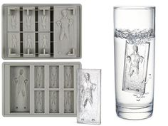 Buy Star Wars Han Solo in Carbonite Silicon Tray online and save! Freeze your own Han Solo in Carbonite! Perfect capturing for ice cubes, chocolate or jelly in the familiar shape of Jabba the Hutt's prized possession. Best Ice Cube Trays, Ice Tray, Starwars, Han Solo Frozen, Kotobukiya Star Wars, Frozen Hans, Jabba The Hutt, Star Wars Han Solo, Ice Molds
