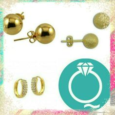 Os brincos básicos que todas nós usamos no dia a dia você encontra na Marquee de Luxe!!!