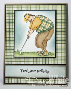 Golf Birthday Card Idea Cards Its Your Ideas Diy