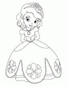Princess coloring page. Kleurplaat prinses More Make your world more colorful with free printable coloring pages from italks. Our free coloring pages for adults and kids. Rapunzel Coloring Pages, Frozen Coloring Pages, Disney Princess Coloring Pages, Disney Princess Colors, Princess Cartoon, Disney Colors, Coloring Pages For Girls, Coloring Book Pages, Coloring For Kids