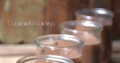 Hoy vengo con un postre sencillo de hacer, la receta es de mi gran amiga María de su blog Ayna-el mundo de Maria. Ademas de lorápi... Chocolate Yogurt, Confectionery, Cereal, Food And Drink, Chocolates, Breakfast, Blog, World, Home