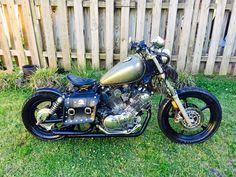 1993 Yamaha XV750 Virago Bobber