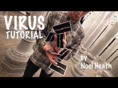 """VIRUS"" // Cardistry Tutorial by Noel Heath | #coordination #dexterity #deftness #playingcards #deckofcards #flourishes"