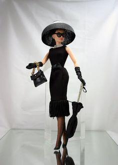 Mattel's Audrey Hepburn doll from Breakfast at Tiffany's