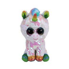 e7b17dd7943 Pixy the Unicorn   Flippables   Beaniepedia Beanie Boos