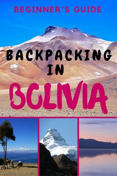 Everything you need to know about backpacking in Bolivia. Bolivia should be on everyone's bucket list.  #backpackingbolivia #travelbolivia #southamerica