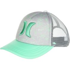 Hurley One   Only YC Trucker Hat ( 25) ❤ liked on Polyvore featuring  accessories 774a0e5ab78