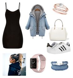 """""""Casual Adidas look"""" by paigey16 on Polyvore featuring DANNIJO, adidas and DKNY"""