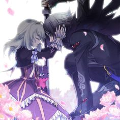 (Tales of Xillia: Wingul and Elize)  this picture is so amazing…no words can explain it.