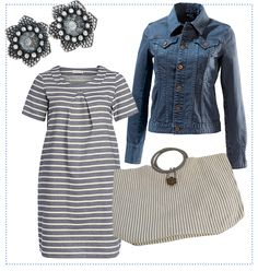 #Denim & #Stripes #Essential by brigitte von Boch #bevonboch