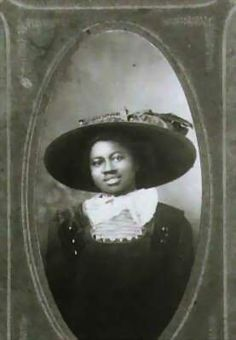 A young Hattie McDaniel (1910); the face is the same & she was wonderful in so many films