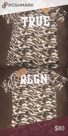 True religion men's shirt Fits like a large! True Religion Shirts Tees - Short Sleeve