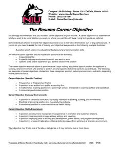 Perfect Resume Objective Project Manager  Management Project Manager Resume And Template