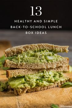 These healthy school lunches will make going back-to-school a snap.