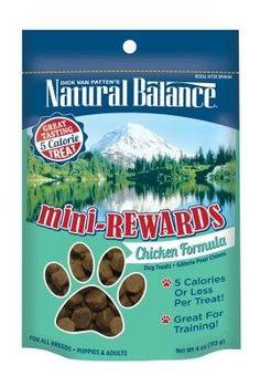 Natural Balance Mini Rewards Chicken Dog Treats 4 oz