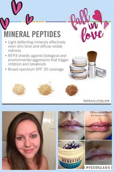 Help your skin be as beautiful as it can be without harsh heavy makeups. Men and women can benefit from the use of Rodan + Fields! Plus it ships to your home AND its results are guaranteed or your money back! How many other products do that?!?!?