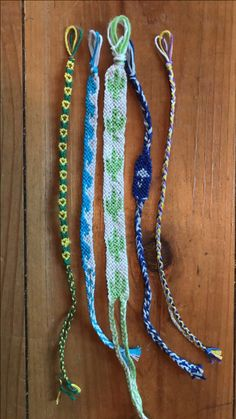 Lots of #friendshipbracelets made this week. #sunflowers , #waves , #cactus , #umbrella , and #braided #bracelets