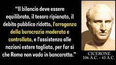 #DebitoPubblico #Burocrazia #storia #Cicerone #citazioni